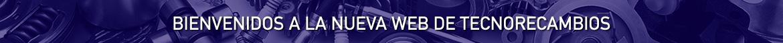 AVISO CAMBIO WEB TECNORECAMBIOS